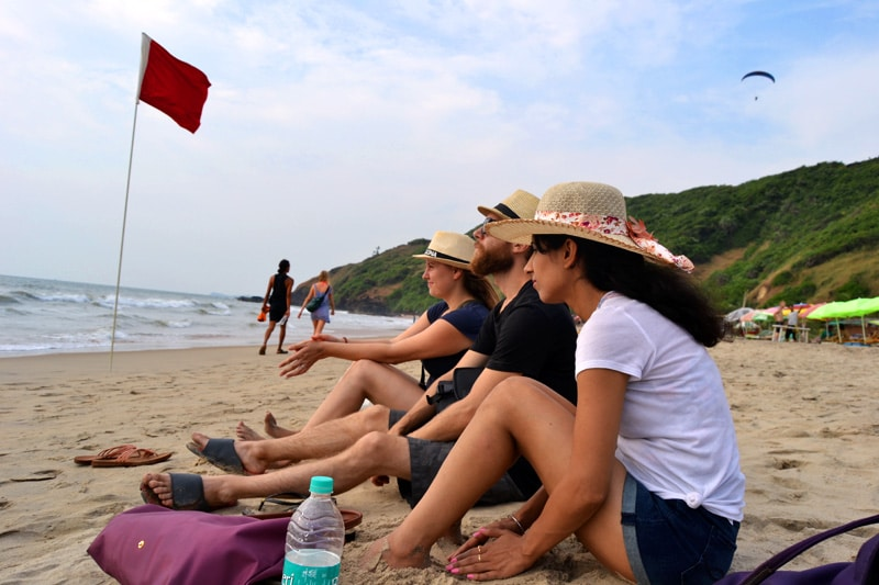 Arambol Beach: Hippiestrand in Goa