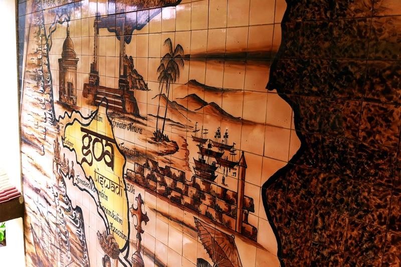 Landkarte von Goa