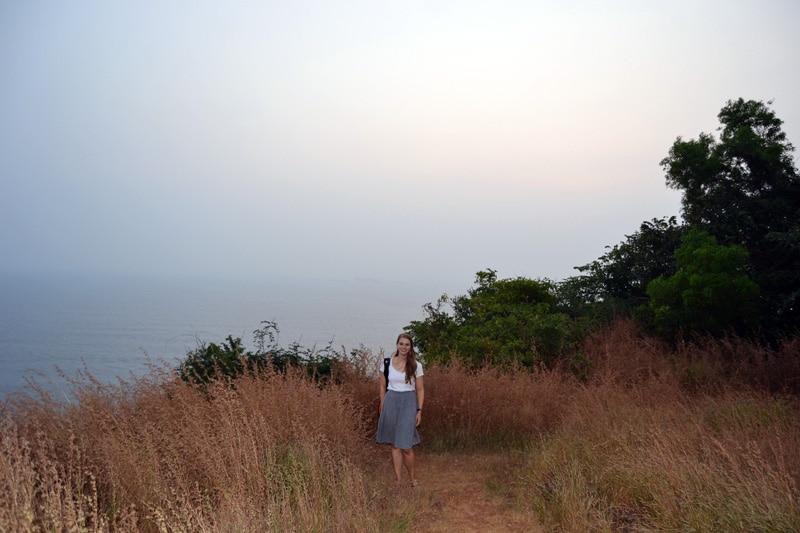 Goa Lookout im Sonnenuntergang