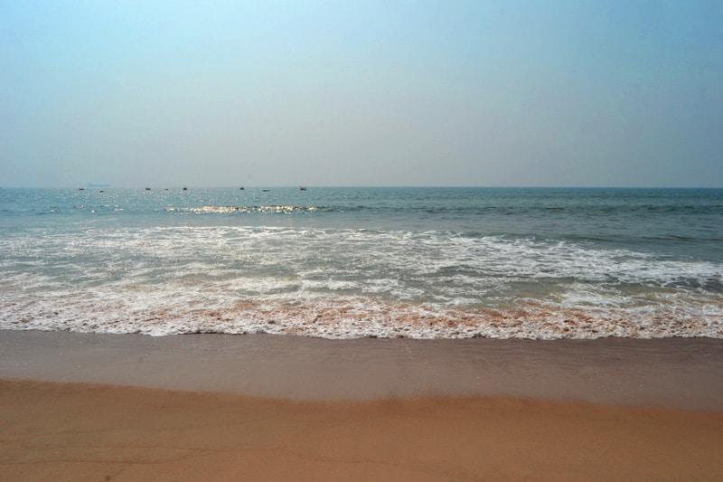 Calangute Strand in Goa, Indien