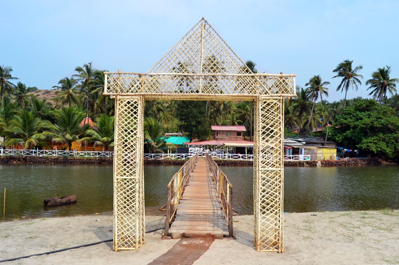 Mandream Beach: Yoga Strand in Goa, Indien