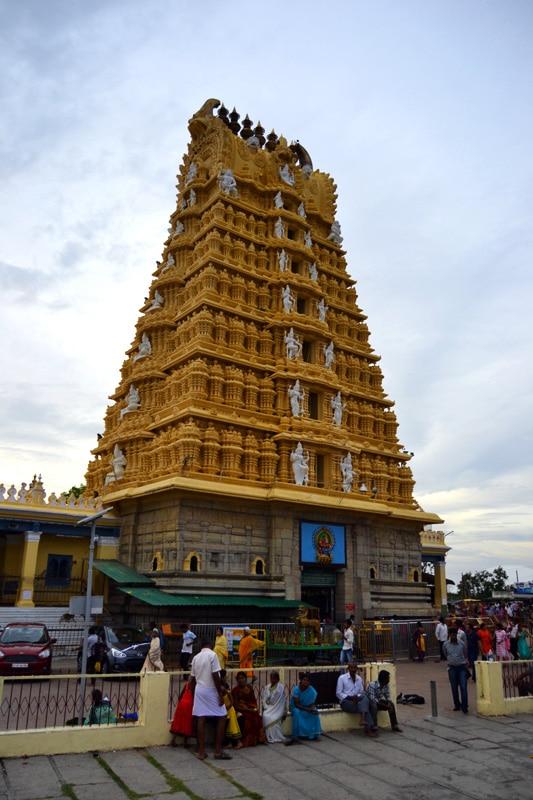 Chamundeshwari Tempel - Chamundi Tempel in Mysore