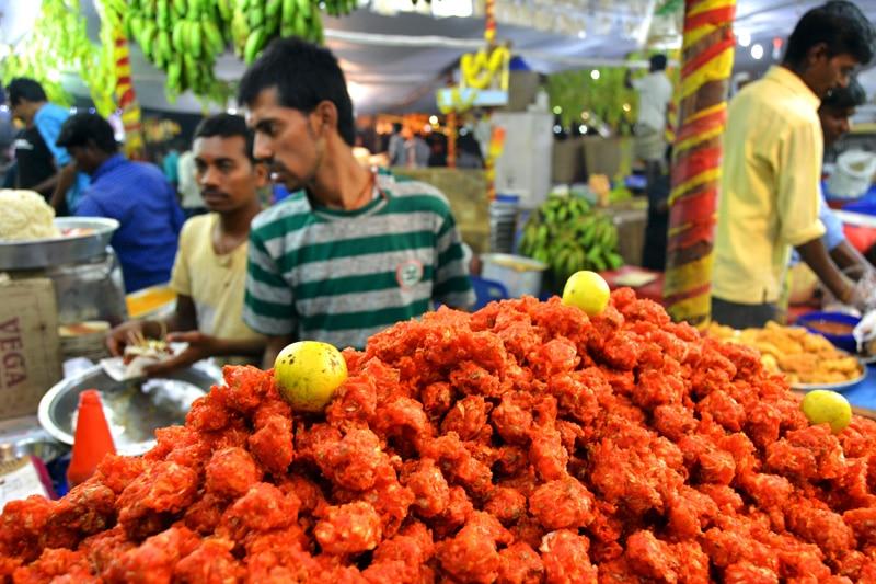 Markt in Mysore, Indien