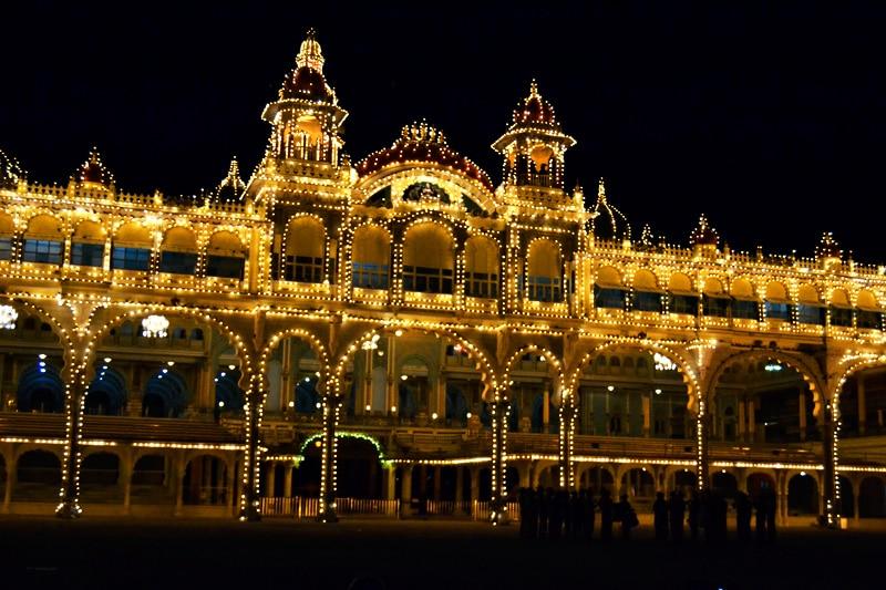 Amba Vilas Palast in Mysore, Indien