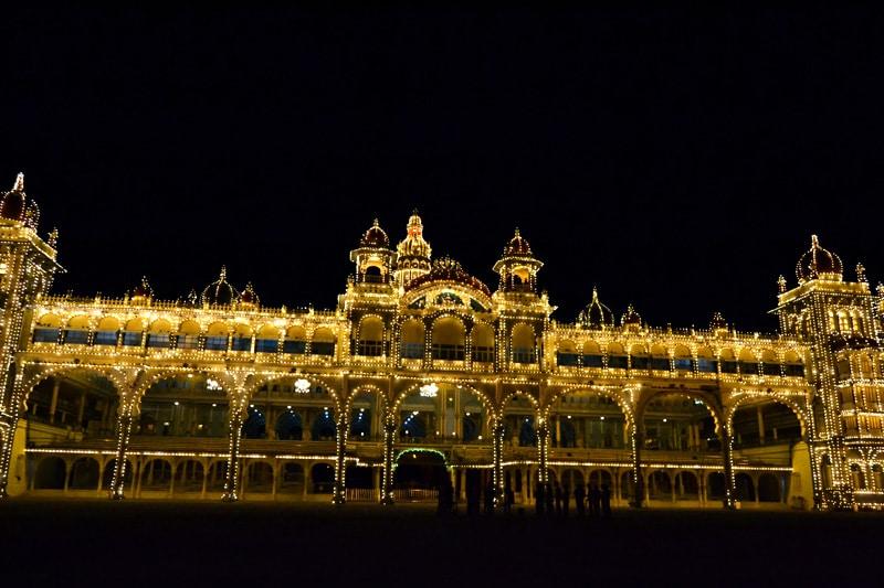 Amba Vilas Palast in Mysore