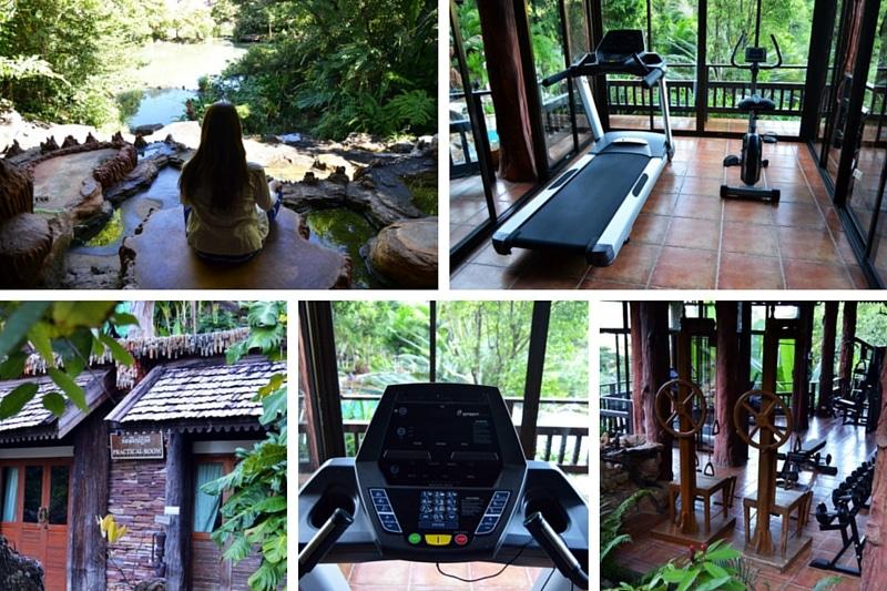 Panviman Chiang Mai Resort Outdoor Fitnessstudio Gym Meditation
