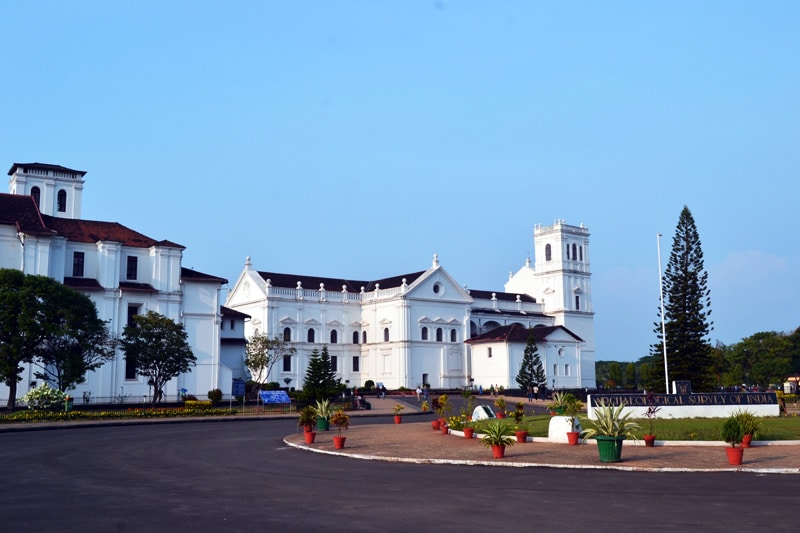 Se Cathedral in Old Goa, Indien