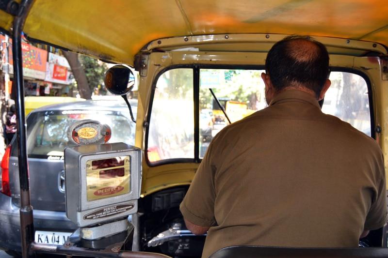 Rikscha Fahrer in Bangalore