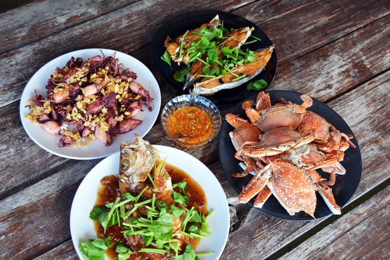 Ban Bang Son Community Tourism Group Homestay Seafood