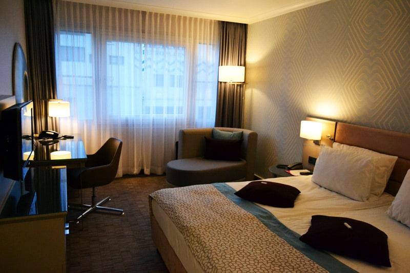 Crowne Plaza City Center Berlin Hotel Standard Doppelzimmer
