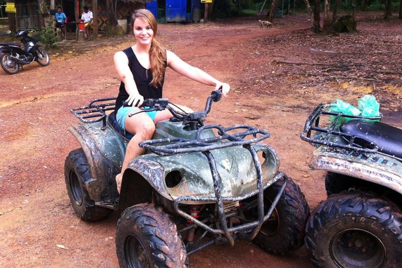 Quad Tour auf Phuket, Thailand