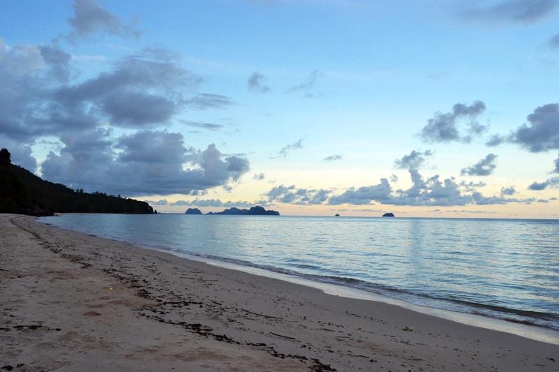Thung Wua Lan Beach Chumphon, Thailand