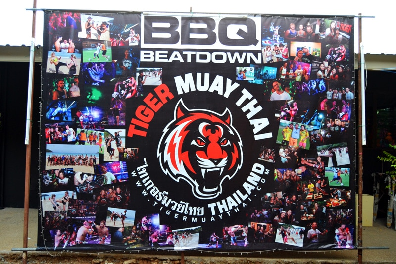Tiger Muay Thai Camp Phuket BBQ Beatdown Party