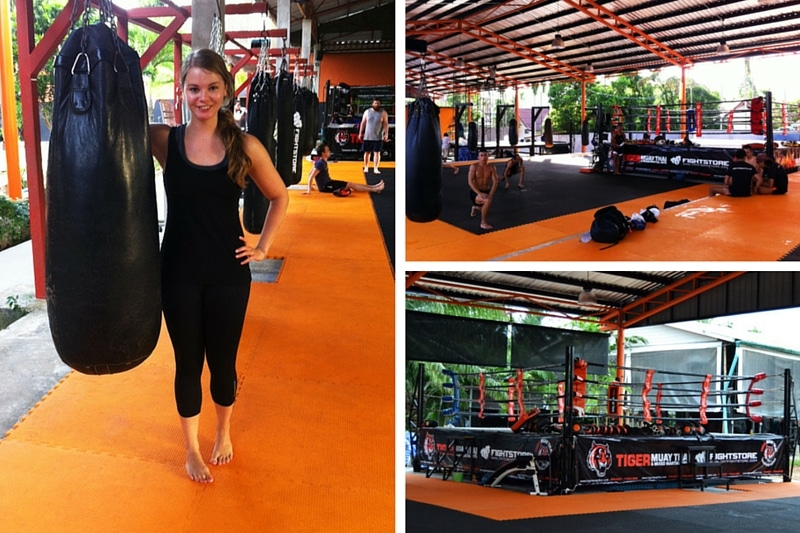 Tiger Muay Thai Camp Phuket Trainingsräume und Facilities