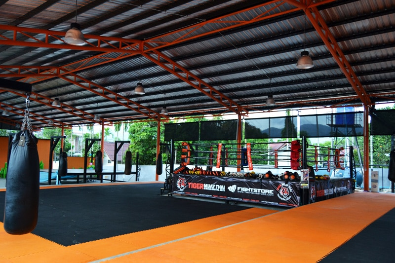 Tiger Muay Thai Camp Phuket Trainingsraum
