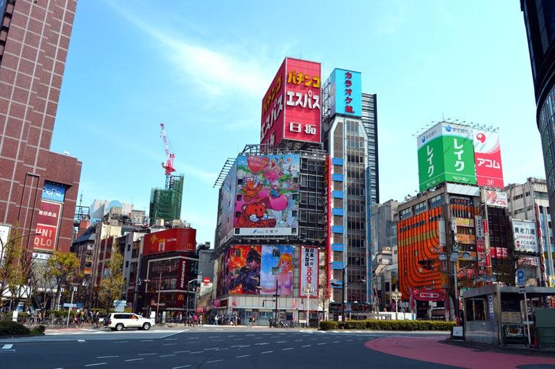 Tokio Shinjuku Viertel