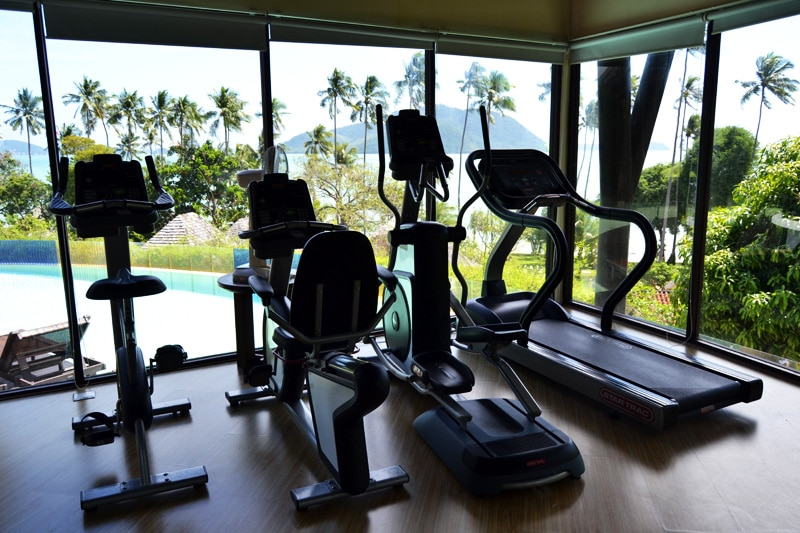 The Vijitt Resort Phuket Fitnessstudio