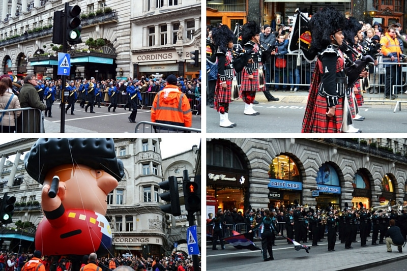 Silvester in London: New Years Day Parade