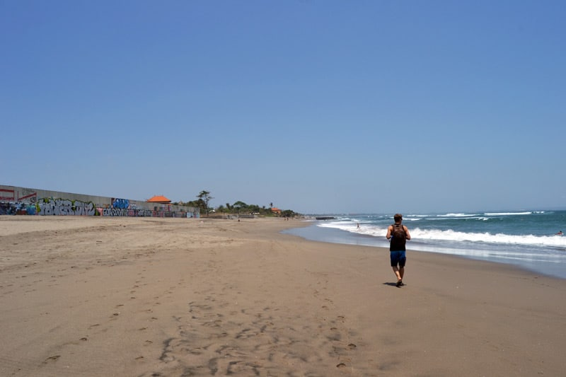 Echo Beach in Canggu, Bali
