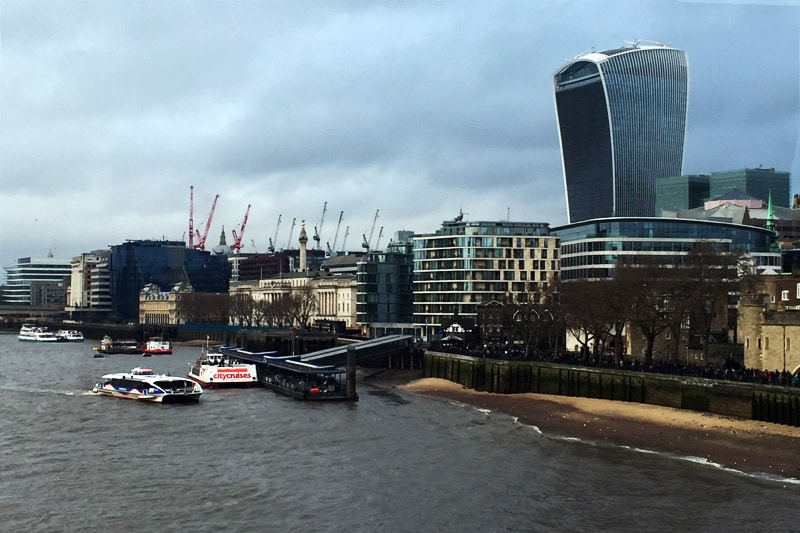 Ausblick von der London Bridge