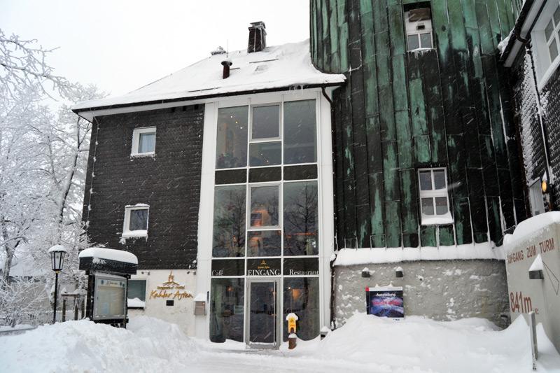 Verschneite Landschaft bei Winterberg, Sauerland