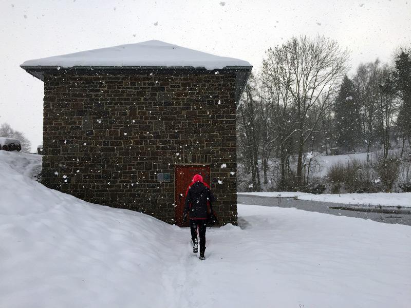 Eishäuschen in Hallenberg, Sauerland