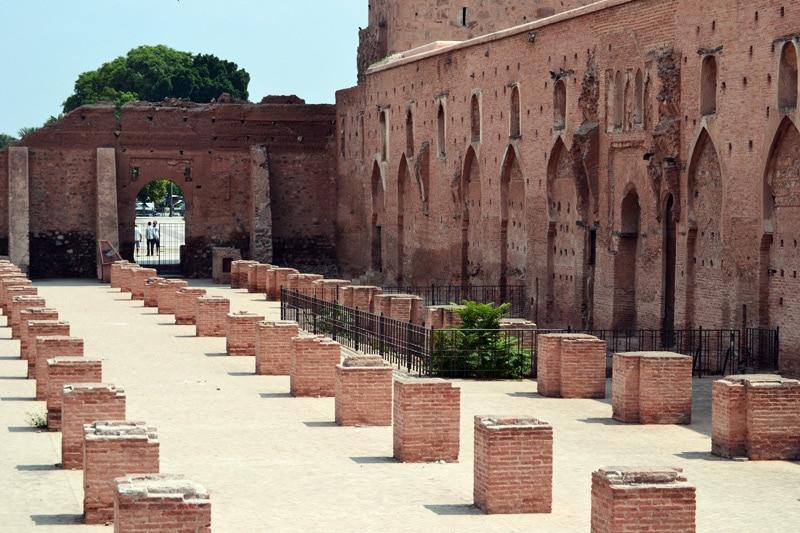 Die Koutoubia Moschee in Marrakesch, Marokko