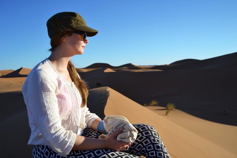 Wüstentrekking durch die Sahara in Marokko