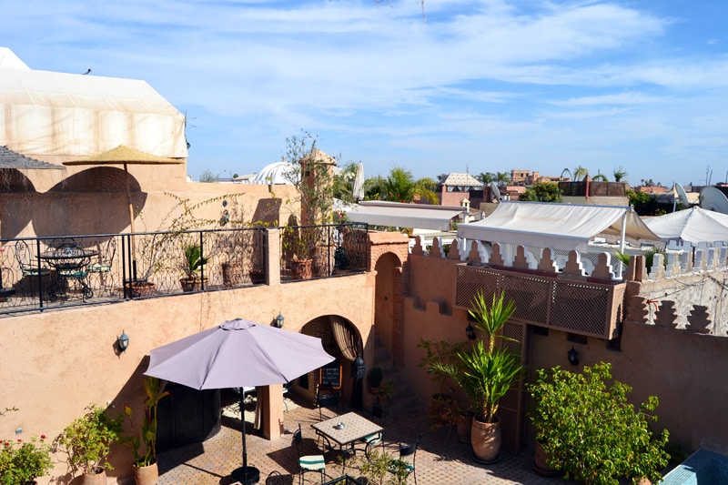 Riad Maud in Marrakesch, Marokko