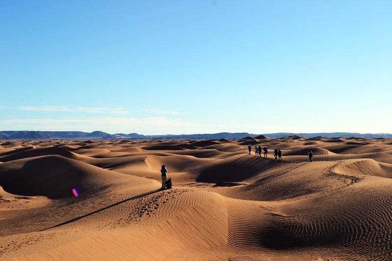 Marokko Wüstentrekking mit Weltweitwandern Sahara