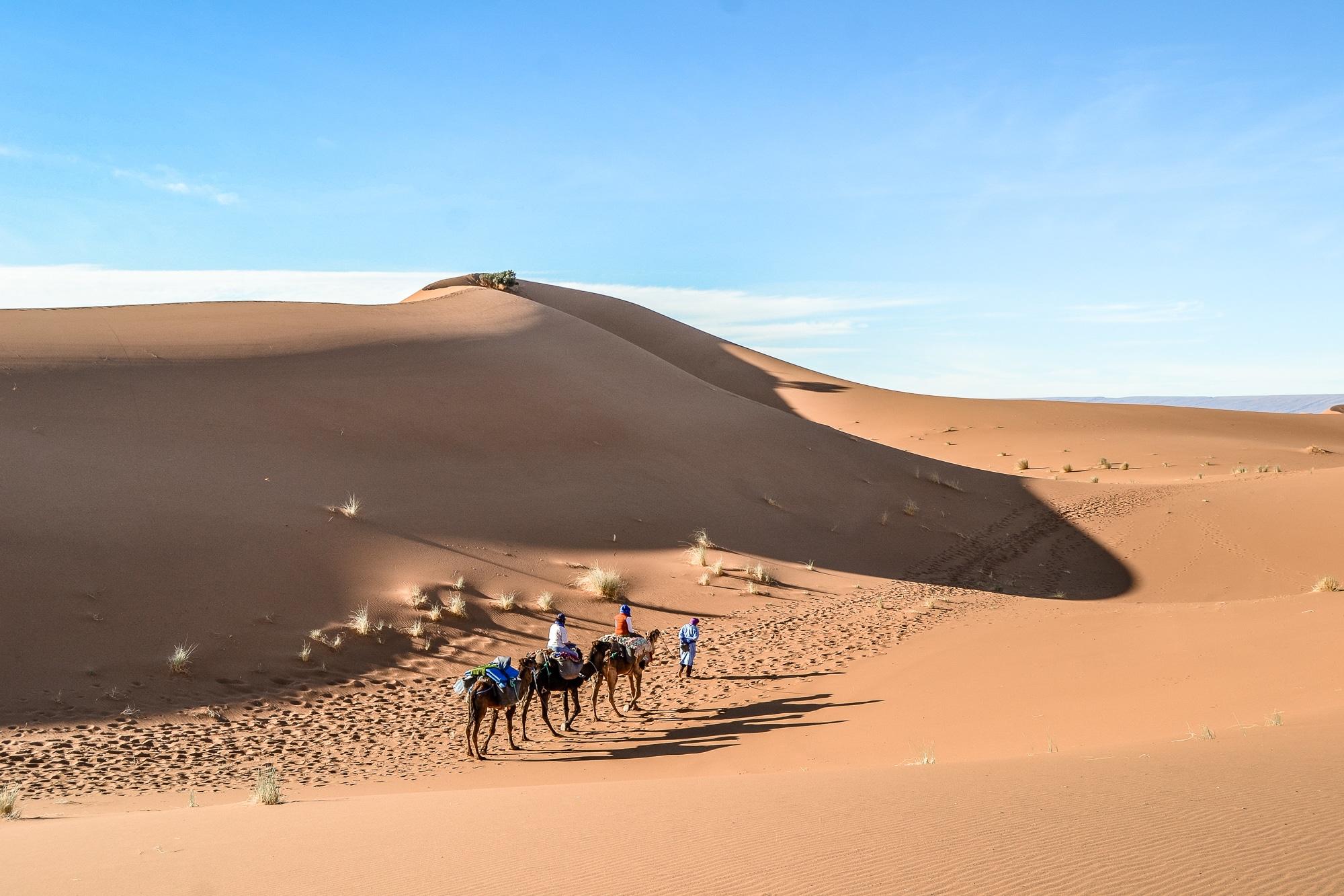Sahara Trekking Sternschnuppen der Wüste mit Weltweitwandern