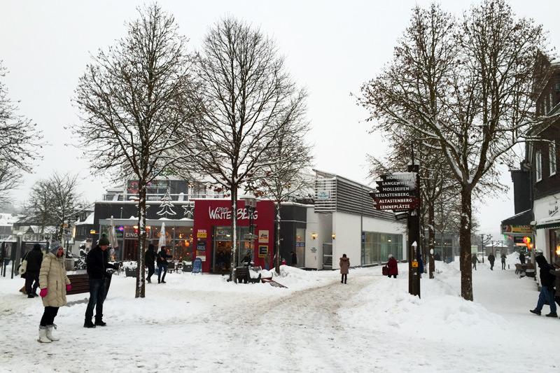 Winterberg im Sauerland - verschneit im Winter