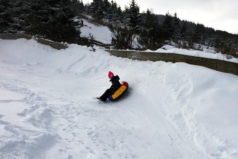 Snowtubing in Züschen, Sauerland