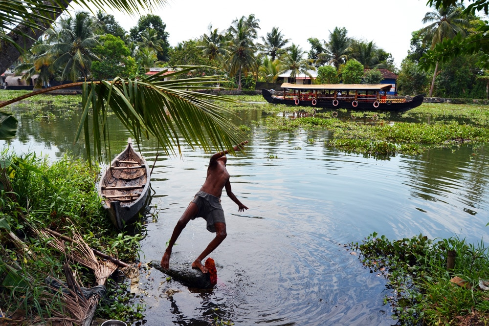 Kayak Tour mit Kalypso Adventures durch die Backwaters von Kerala - Kerala Blog Express 3