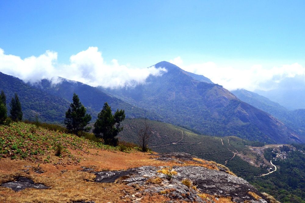 Westghats: Wandern und Trekking in den Western Ghats Mountains von Kerala, Indien