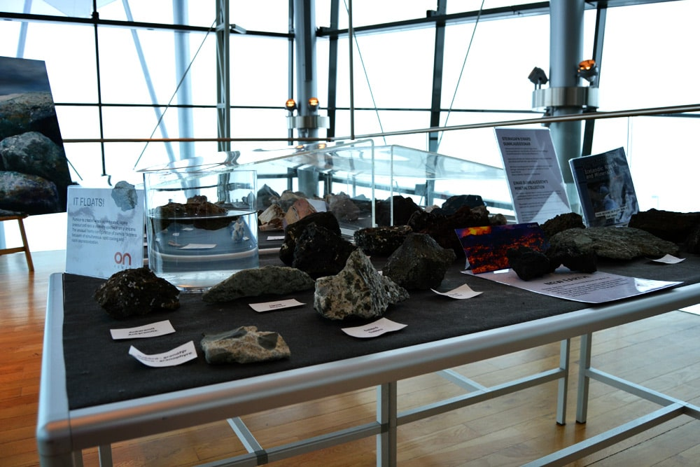 Erdwärmeenergie Ausstellung in Reykjavik, Island