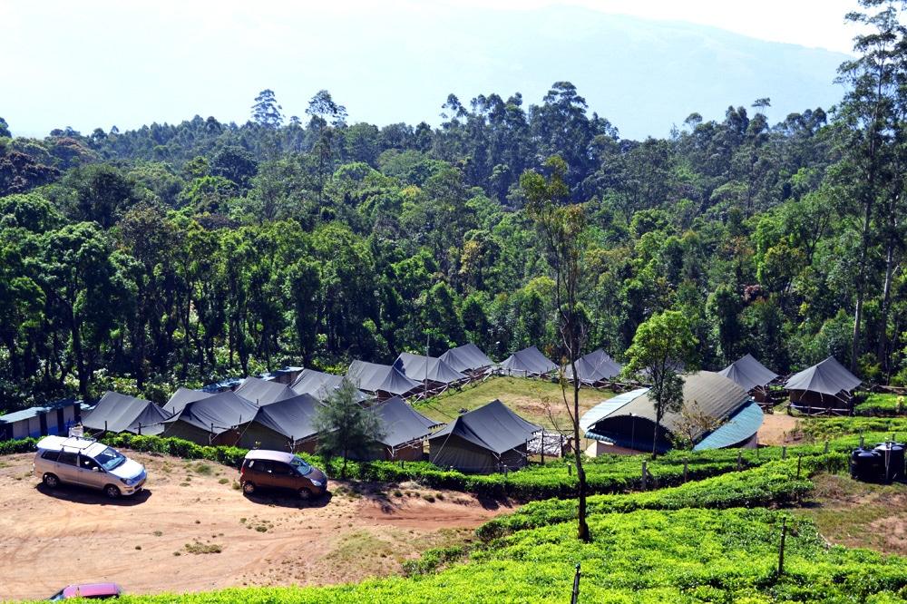 Westghats: Camping und Trekking in den Western Ghats Mountains von Kerala, Indien