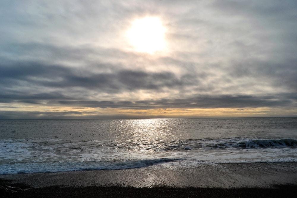 Island Südküste: Black Sand Beach bei Vik