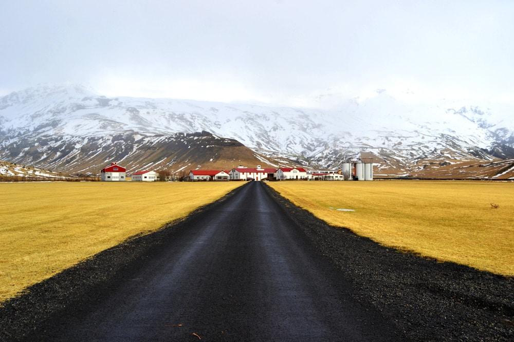 Island Südküste: Landstraße am Eyafjallajökull