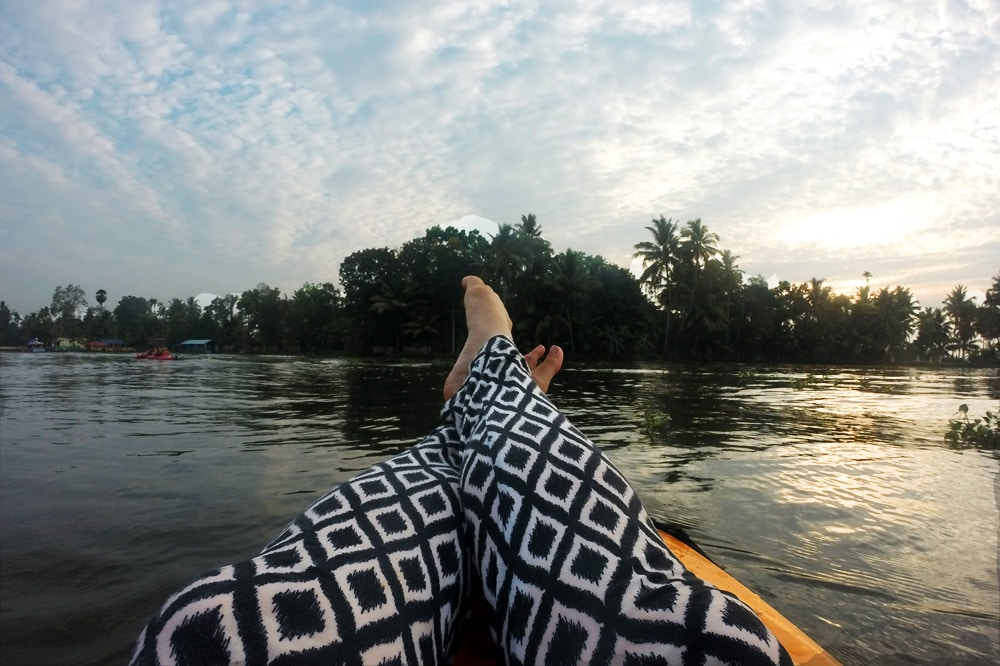 Kayak Tour mit Kalypso Adventures durch die Backwaters von Kerala - Kerala Blog Express 3
