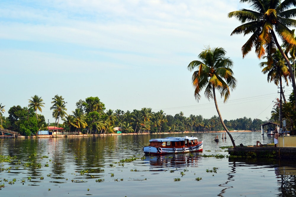 Lakes and Lagoons Backwaters Tour mit dem Hausboot - Kerala Blog Express 3