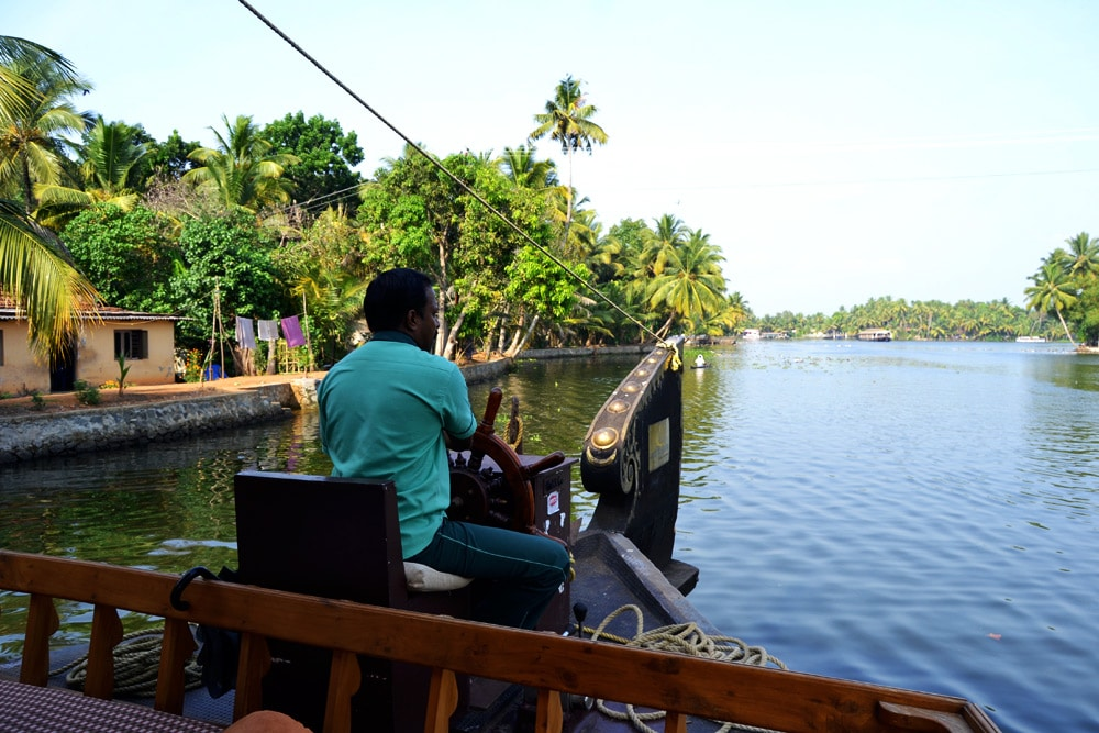 Backwaters Kerala Tour mit Lakes and Lagoons
