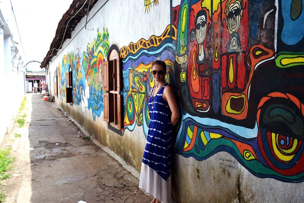 Streetart in Kochin, Kerala, Indien - Kerala Blog Express 3