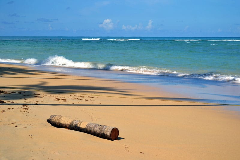 Playa Bonita auf der Halbinsel Samana, Dominikanische Republik