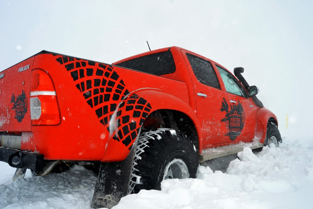 Superjeep Tour mit Arctic Trucks Experience in Reykjavik, Island