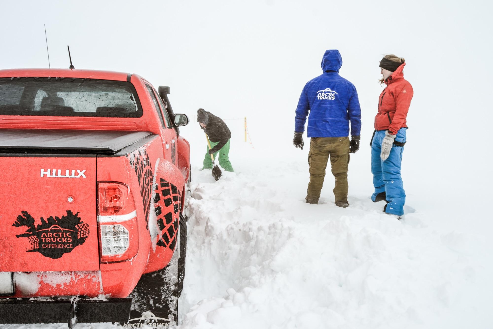 Wenn dir der Winter in Island eine Kampfansage macht