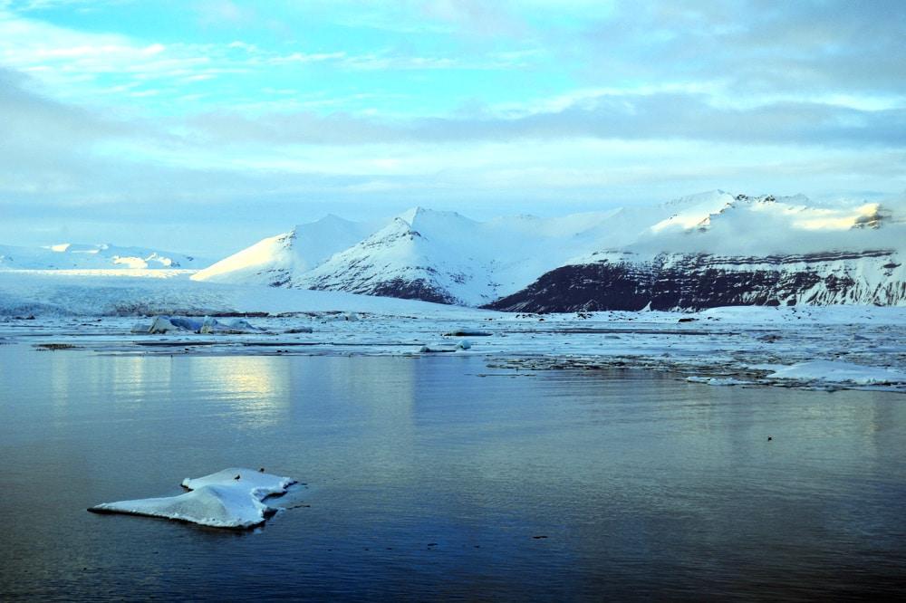 Gletscherlagune Jökulsárlón - der größte Gletschersee in Island