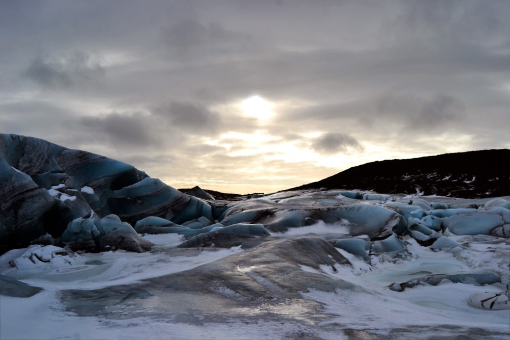 Gletscher Svínafellsjökull: Gletscherwanderung in Island