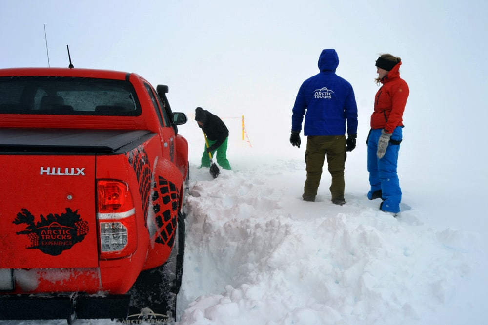 Superjeep Tour mit Arctic Trucks Experience in Reykjavik, Island