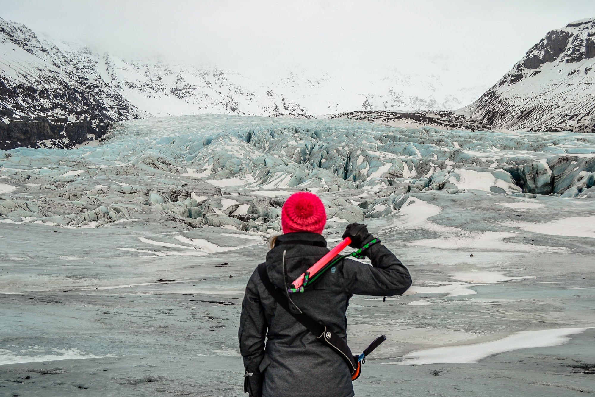 Franzi von Coconut Sports auf Gletscherwanderung in Island